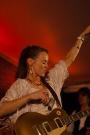 Grainne Duffy på Notodden Bluesfestival 2014. Foto: Lars Chr Gamborg